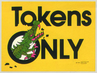 tokens only sign by Willis