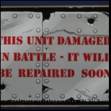 Battle Damage sign