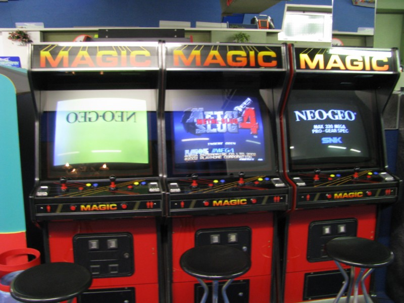 Tags: MAME, Nevada Magic, Rotating Monitors