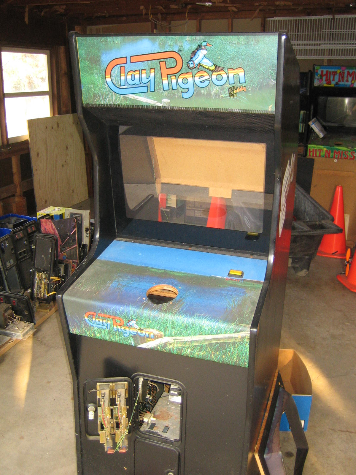 Arcade Obituary Exidy S Clay Pigeon Tokens Only